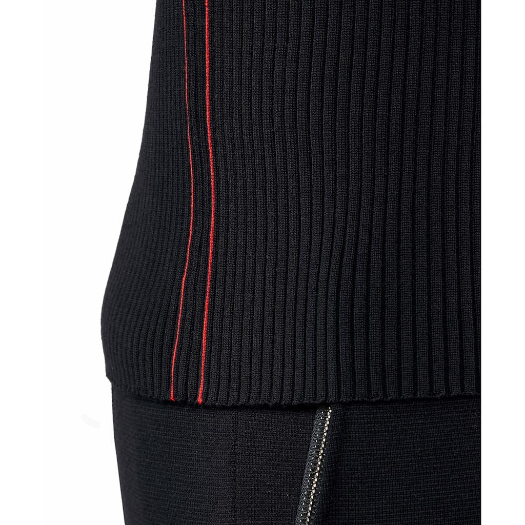 FALKE Strickjacke »Zip-Jacke«, mit extrafeiner Merinowolle
