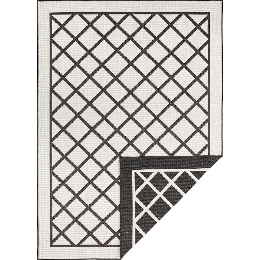 bougari Teppich »Sydney«, rechteckig, 5 mm Höhe, In- und Outdoor geeignet, Wendeteppich, Wohnzimmer
