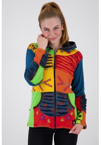 DEPROC Active Fleecejacke »Multicolor NUNAVUT WOMEN FLOWER POWER« kaufen