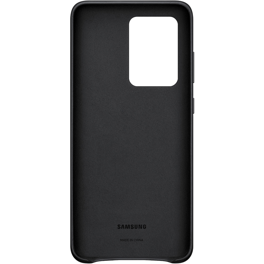 Samsung Smartphone-Hülle »Leather Cover EF-VG988«, Galaxy S20 Ultra 5G