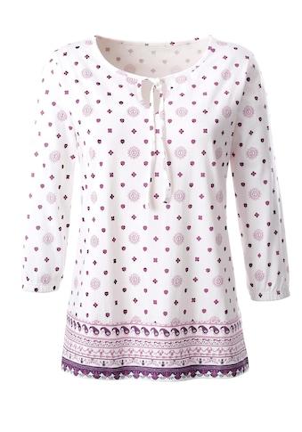 Inspirationen Shirt aus reiner Baumwolle kaufen