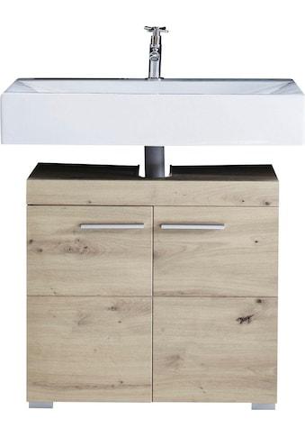 trendteam Waschbeckenunterschrank »Amanda«, Höhe 56 cm, Badezimmerschrank mit 2 Türen... kaufen