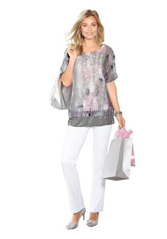 Classic Basics Tunika mit schimmernden Pailletten kaufen