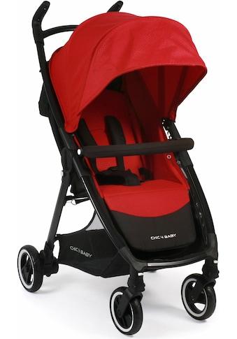 CHIC4BABY Sport-Kinderwagen »Robbie, rot«, mit schwenk- und feststellbaren... kaufen