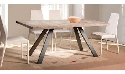 Home affaire Esstisch »Matera«, mit einer 4 cm starken Tischplatte, im hochwertigen italienischen Design, mit einem Metallgestell kaufen