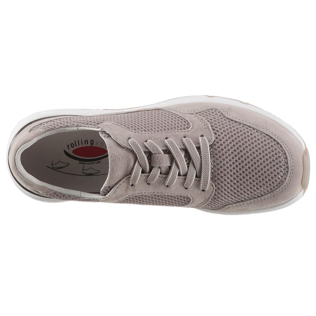 Gabor Rollingsoft Keilsneaker, mit Mesheinsatz