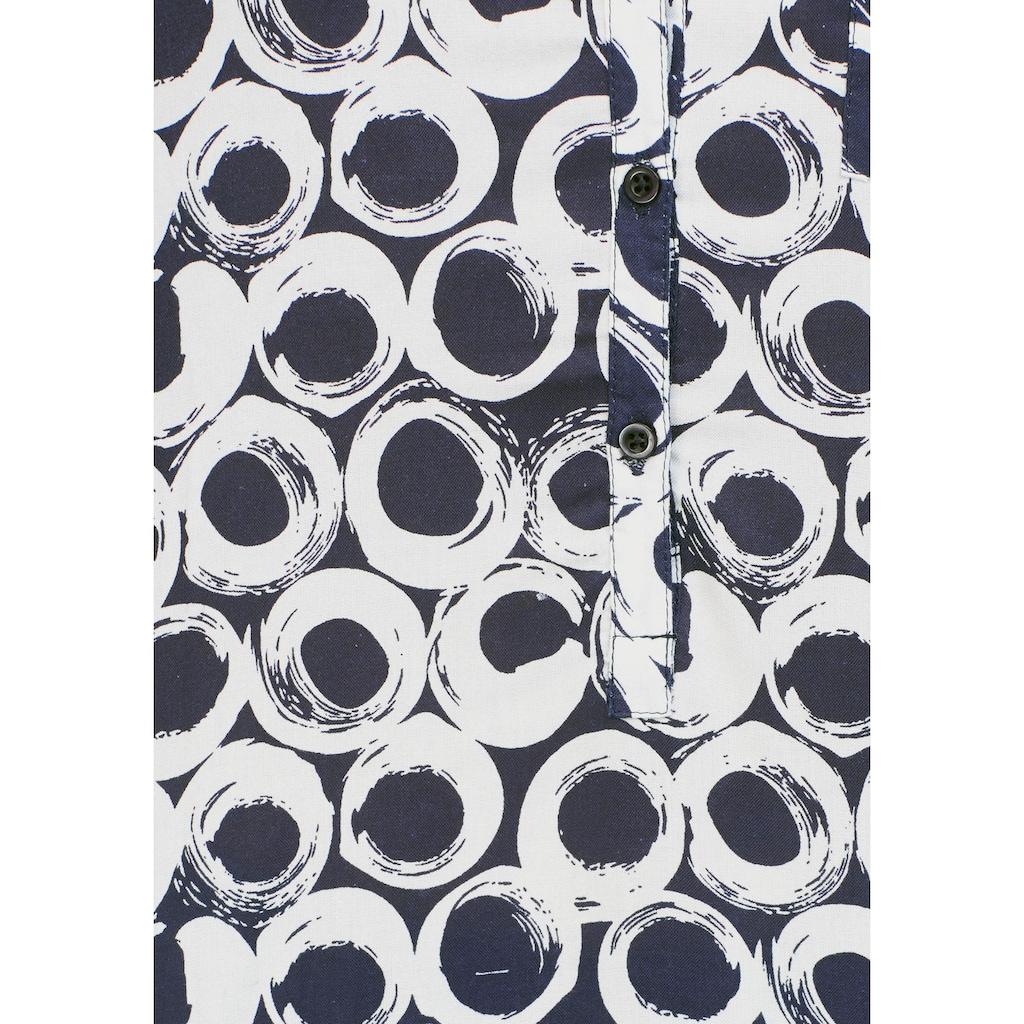 Aniston CASUAL Schlupfbluse, mit krempelbaren Ärmeln