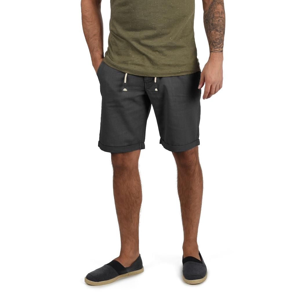 Blend Shorts »Lias«, kurze Hose aus Leinenqualität