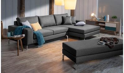 Max Winzer® Ecksofa »Flori« (Spar - Set, Ecksofa und Hocker) kaufen
