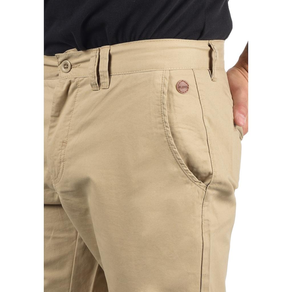 Blend Chinoshorts »Sasuke«, kurze Hose mit knöpfbarer Zusatztasche