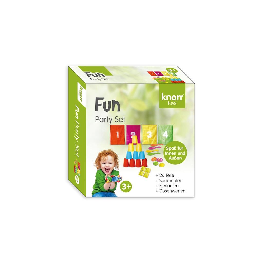Knorrtoys® Spielzeug-Gartenset »Partyset - Fun«