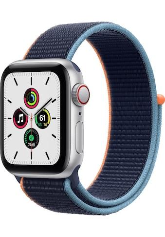 Apple Smartwatch »Apple Watch Series SE GPS + Cellular, Aluminium Gehäuse, 40 mm mit... kaufen