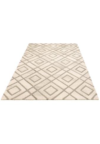 Teppich, »Temel«, Leonique, rechteckig, Höhe 14 mm, handgetuftet kaufen