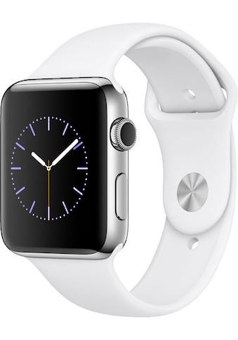 Watch Series 2, Edelstahlgehäuse, 42 mm, Sportarmband, Apple kaufen