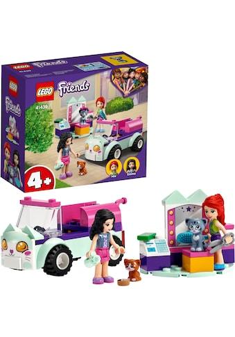 LEGO® Konstruktionsspielsteine »Mobiler Katzensalon (41439), LEGO® Friends«, (60 St.),... kaufen