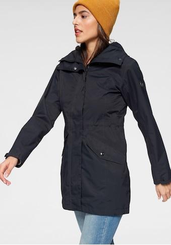 Polarino Outdoorjacke, länger geschnitten und wetterfest kaufen