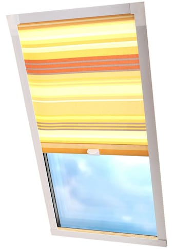 Liedeco Dachfensterrollo »Dekor«, Lichtschutz, in Führungsschienen, Dachfensterrollo Dekor kaufen