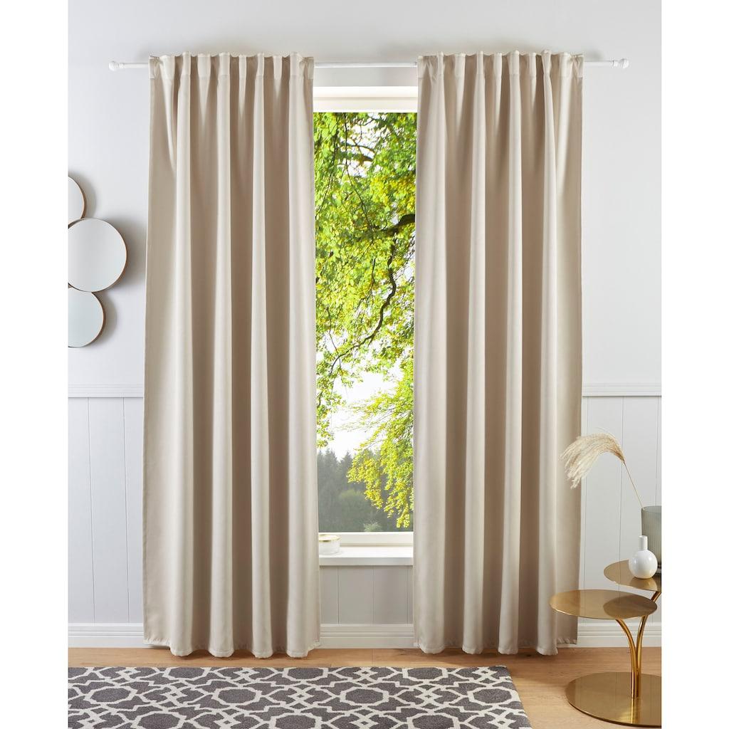 Guido Maria Kretschmer Home&Living Vorhang »Geriet«, blickdicht, gewebt, monochrom, basic