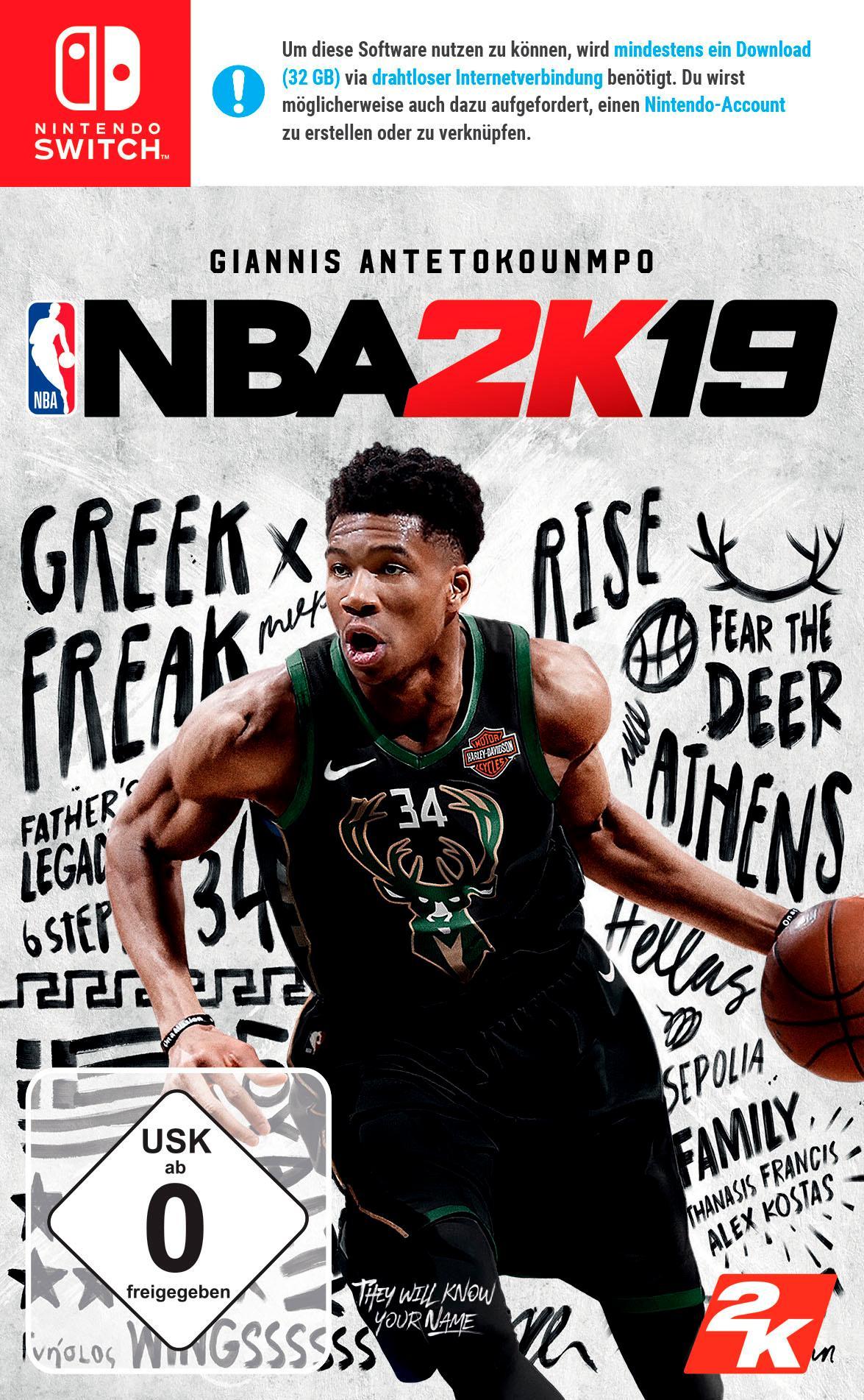 Image of NBA 2K19 Nintendo Switch