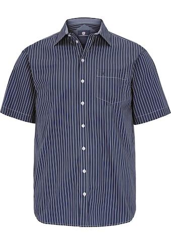 Jan Vanderstorm Streifenhemd »PERTTU«, Kurzarmhemd, bequeme Passform kaufen