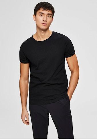 SELECTED HOMME T-Shirt »MORGAN O-NECK TEE« kaufen