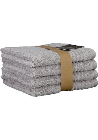 Cawö Waschlappen »Minis Uni«, mit dezenter Bordüre kaufen