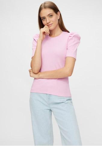 pieces Rundhalsshirt »PCANNA«, mit Puffärmel kaufen