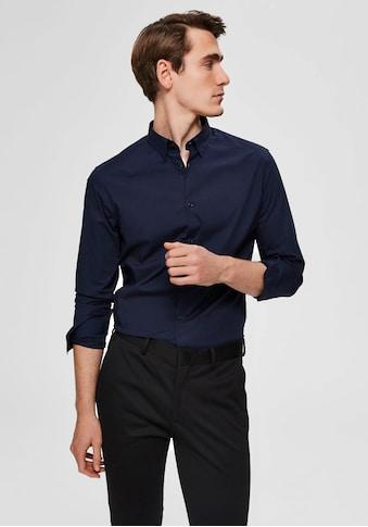SELECTED HOMME Langarmhemd »SLIM MICHIGAN SHIRT« kaufen