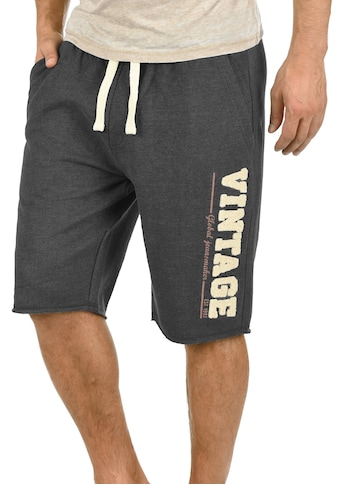 Blend Sweatshorts »Grobmo«, kurze Hose mit Frottier-Logo auf dem Bein kaufen