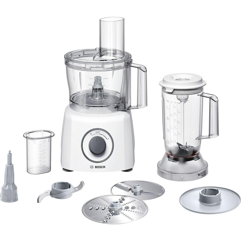 BOSCH Multifunktions-Küchenmaschine »MCM3200W weiss«