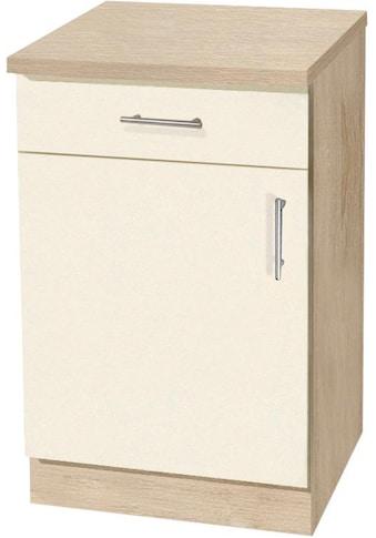 wiho Küchen Unterschrank »Kiel«, 50 cm breit, in Tiefe 50 cm kaufen