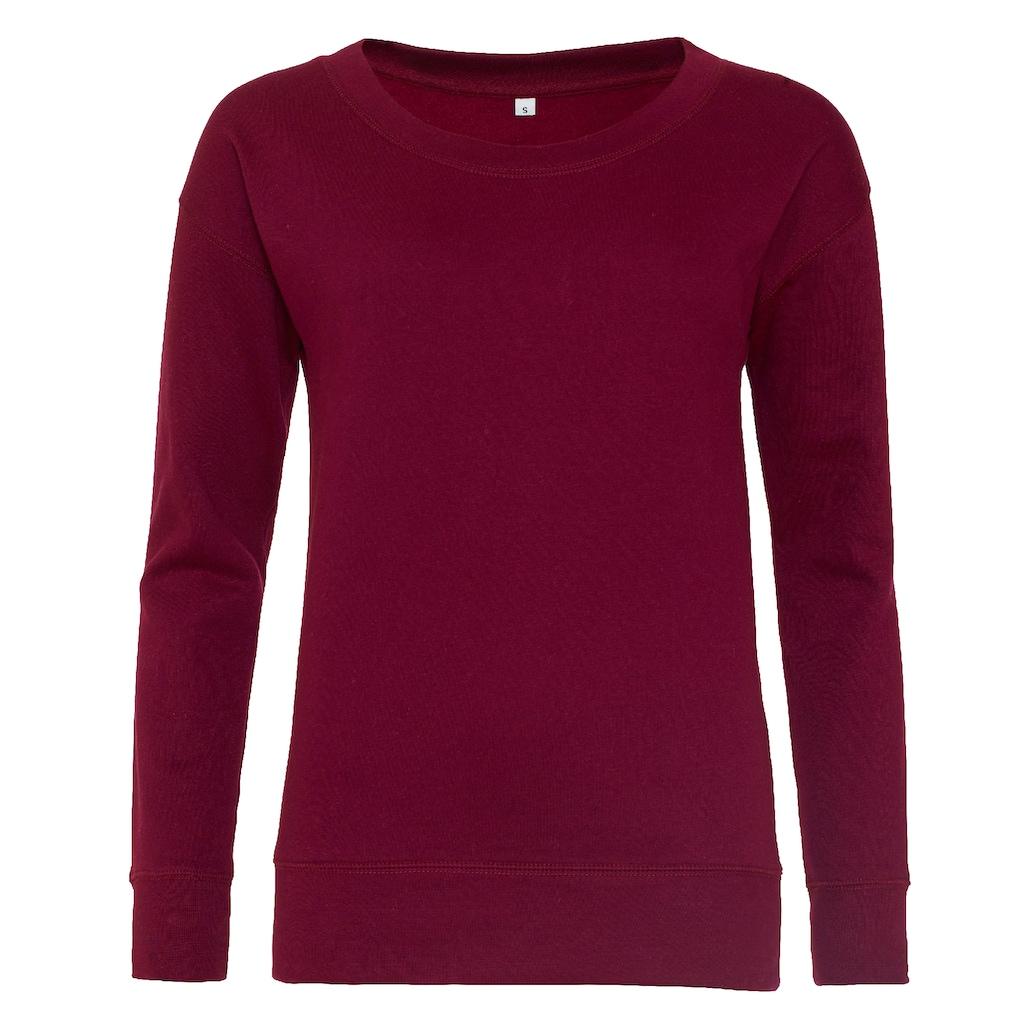 AWDIS Longsweatshirt »Hoods Damen Sweatshirt Girlie Fashion«