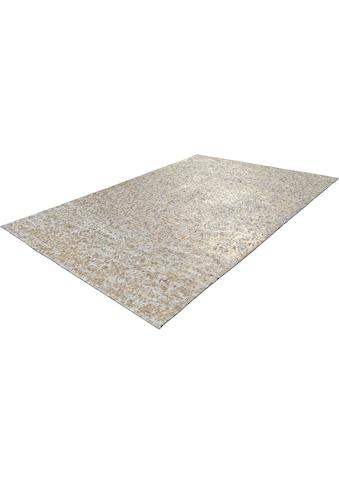 calo-deluxe Fellteppich »Vezzana 615«, rechteckig, 5 mm Höhe, echtes Rinderfell, Wohnzimmer kaufen
