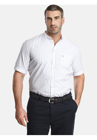 Charles Colby Kurzarmhemd »DUKE KEENAN«, Baumwollhemd mit Stehkragen kaufen