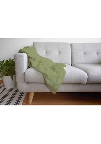 Wohndecke »Sommer-Baumwolldecke SOLE« kaufen