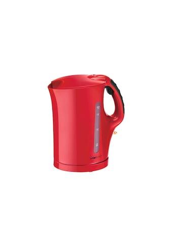Wasserkocher, Clatronic »WK 3445 1.7 l, Rot« kaufen