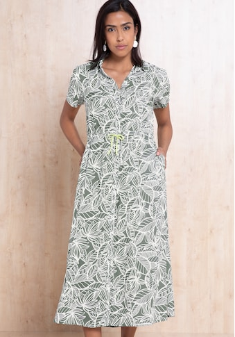 bianca Hemdblusenkleid »DORINE«, im sommerlichen Jungle-Print mit Bindedetail kaufen