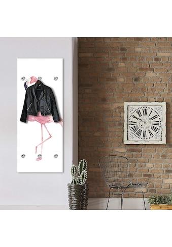queence Garderobenpaneel »Flamingo« kaufen