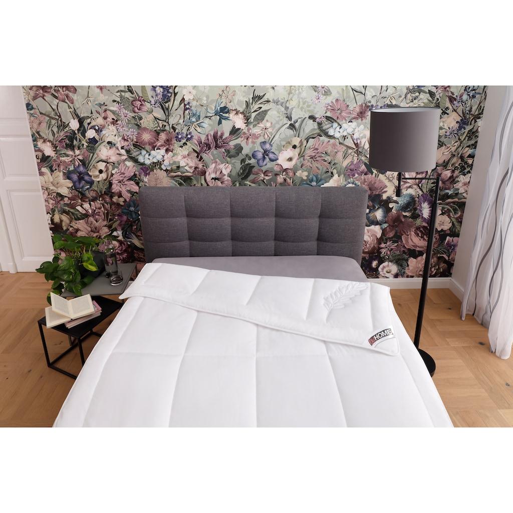 my home Kunstfaserbettdecke »Maret«, leicht, Füllung Polyester, Bezug Polyester, (1 St.), entspannt einschlafen mit einem Hauch von Lavendelduft!