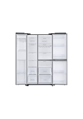 Side by Side, A++, 608L, Wasser & Eiswürfelspender, Edelstahl, Samsung, »RS8000« kaufen