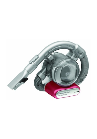 Black + Decker Akku-Handstaubsauger »Dustbuster Flexi Silberfarben & Pink« kaufen