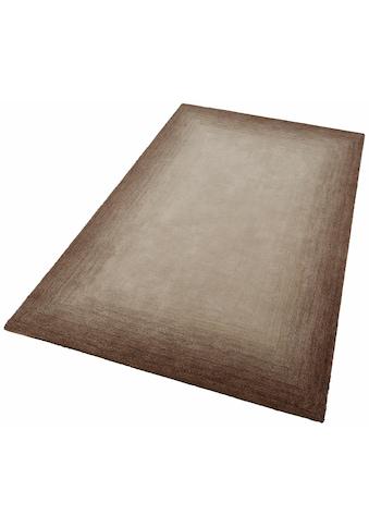 THEKO Teppich »Hula«, rechteckig, 18 mm Höhe, besonders weich durch Microfaser, Wohnzimmer kaufen