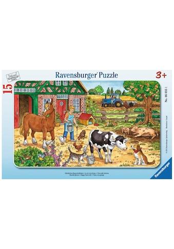 Ravensburger Puzzle »Glückliches Bauernhofleben« kaufen