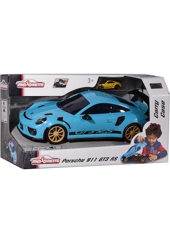 majORETTE Spielzeug-Auto »Porsche 911 GT3 RS - Carry Case«, inkl. Mini-Auto kaufen
