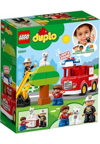 """LEGO® Konstruktions - Spielset """"Feuerwehrauto (10901), LEGO® DUPLO™"""", Kunststoff, (21 - tlg.) kaufen"""
