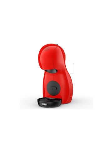 Portionskaffeemaschine, Delonghi, »Piccolo XS EDG210 Rot« kaufen