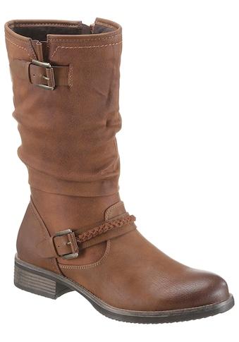 Rieker Stiefel, mit gerafftem Schaft kaufen