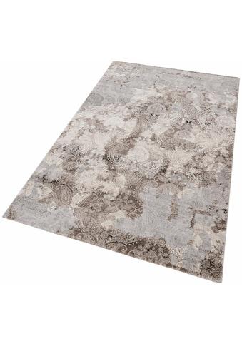 merinos Teppich »Edina«, rechteckig, 12 mm Höhe, Vintage Design, Hoch-Tief-Effekt, Wohnzimmer kaufen