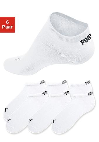 PUMA Sneakersocken, (6 Paar), in klassischer Form kaufen