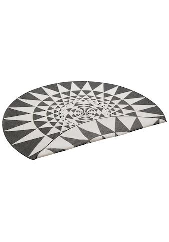 Teppich, »Bela«, my home, rund, Höhe 5 mm, maschinell gewebt kaufen